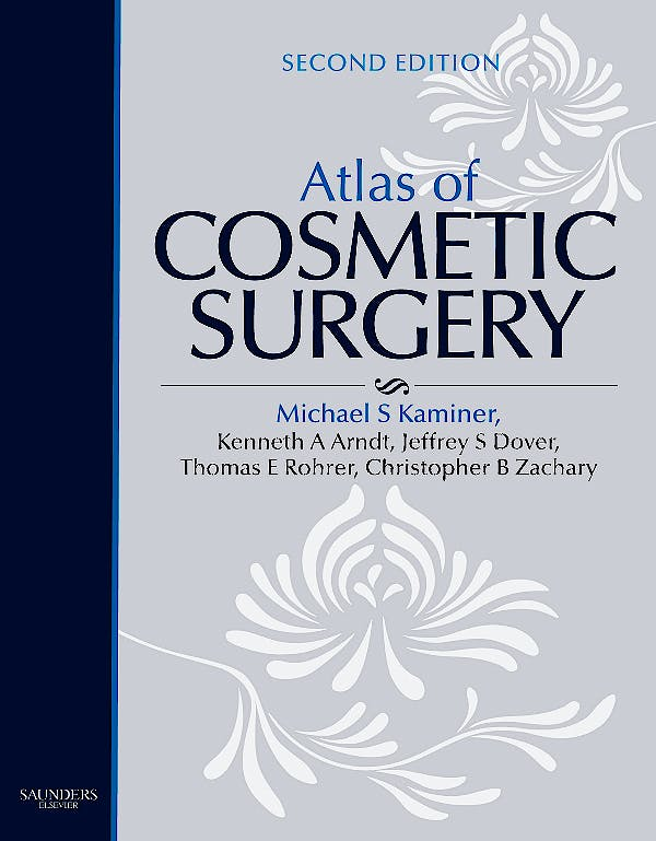 Portada del libro 9781416036623 Atlas of Cosmetic Surgery + Dvd