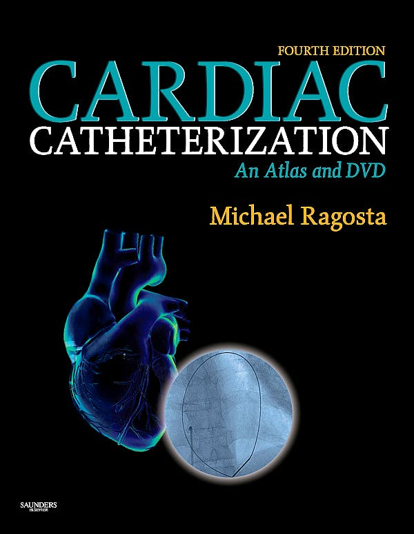 Portada del libro 9781416039990 Cardiac Catheterization. An Atlas and DVD