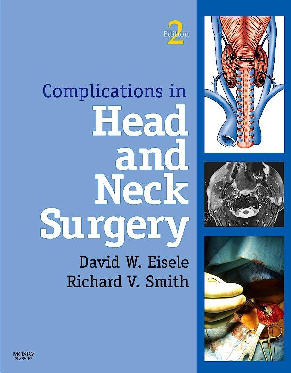 Portada del libro 9781416042204 Complications in Head and Neck Surgery