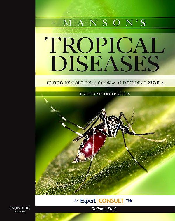 Portada del libro 9781416044703 Manson's Tropical Diseases (Online and Print)