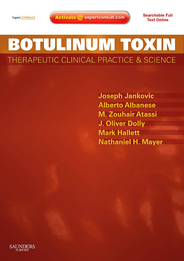Portada del libro 9781416049289 Botulinum Toxin. Therapeutic Clinical Practice and Science