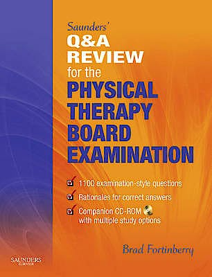 Portada del libro 9781416049791 Saunders' Q & a Review for the Physical Therapy Board Examination