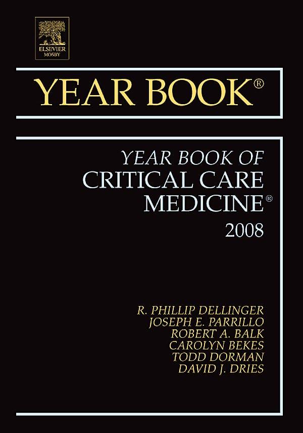 Portada del libro 9781416051749 Year Book of Critical Care Medicine 2008