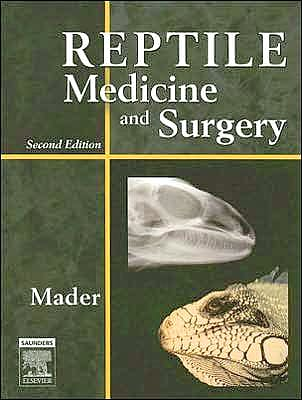 Portada del libro 9781416053910 Reptile Medicine and Surgery - Text and Veterinary Consult Package (Book plus Fully Searchable Electronic Access to Text)