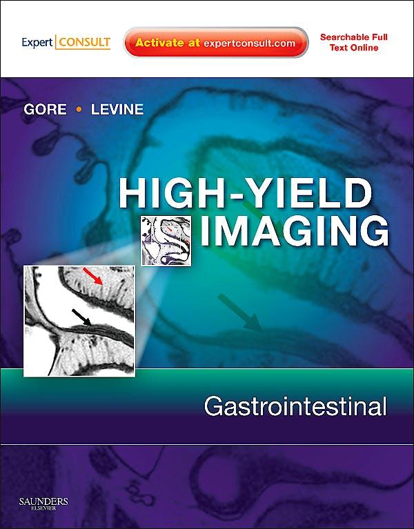 Portada del libro 9781416055440 High-Yield Imaging. Gastrointestinal