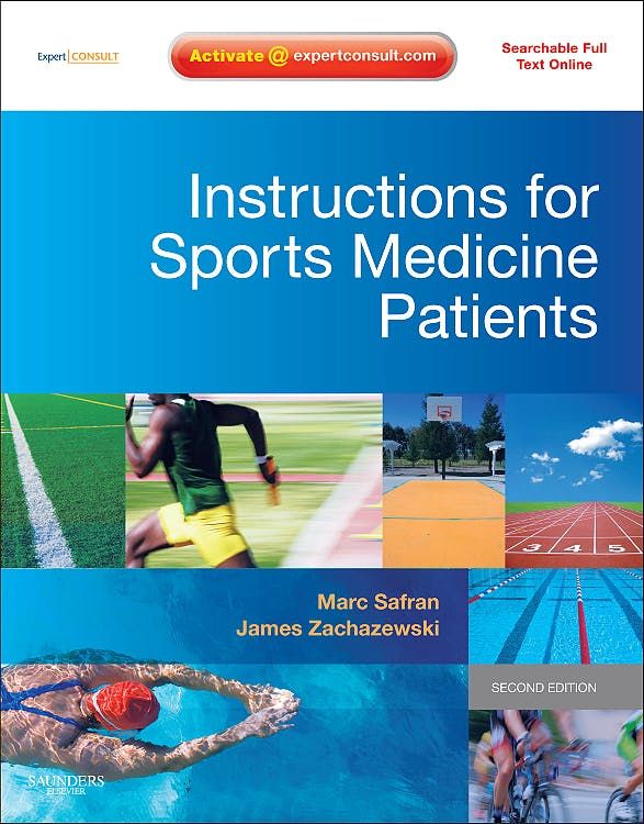 Portada del libro 9781416056508 Instructions for Sports Medicine Patients
