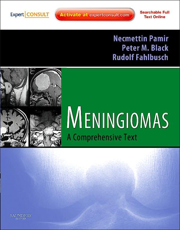 Portada del libro 9781416056546 Meningiomas. a Comprehensive Text (Print + Online)