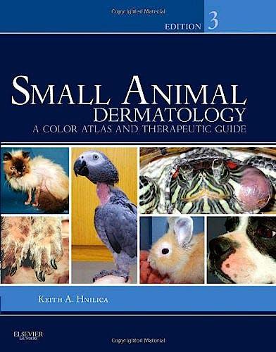Portada del libro 9781416056638 Small Animal Dermatology. a Color Atlas and Therapeutic Guide