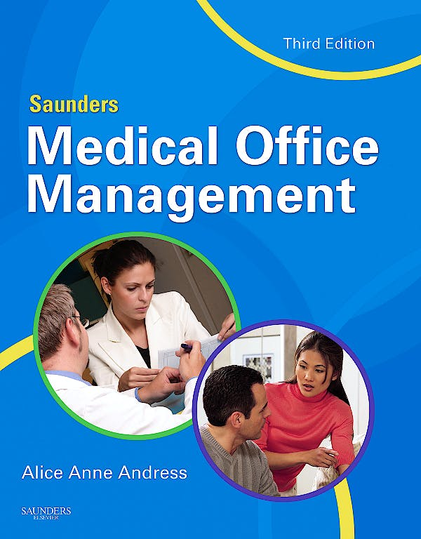 Portada del libro 9781416056683 Saunders Medical Office Management