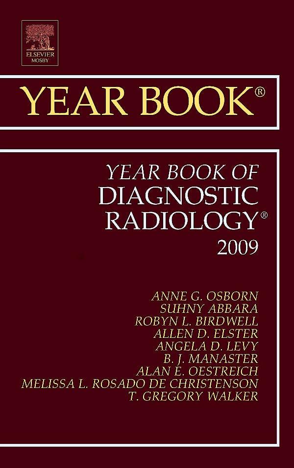 Portada del libro 9781416057345 Year Book of Diagnostic Radiology 2009