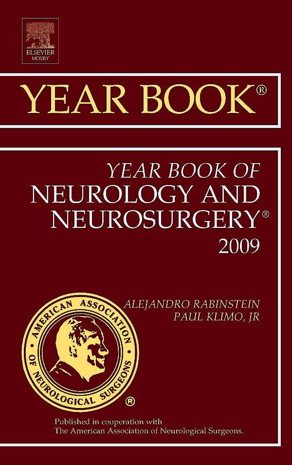 Portada del libro 9781416057550 Year Book of Neurology and Neurosurgery 2009