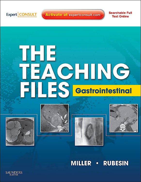 Portada del libro 9781416059448 The Teaching Files. Gastrointestinal