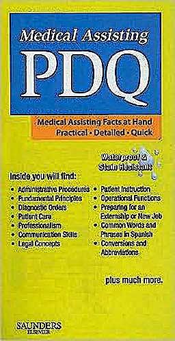 Portada del libro 9781416061069 Medical Assisting Pdq