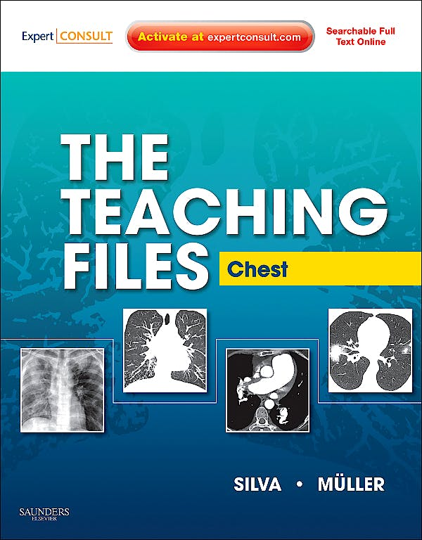 Portada del libro 9781416061106 The Teaching Files. Chest (Online and Print)