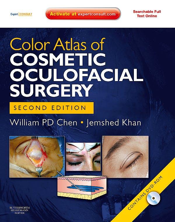 Portada del libro 9781416062103 Color Atlas of Cosmetic Oculofacial Surgery + Dvd