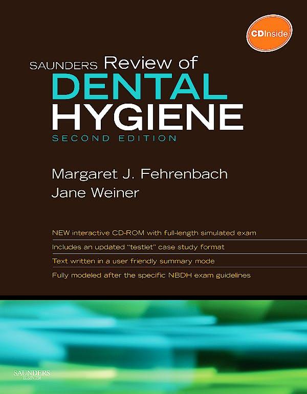 Portada del libro 9781416062554 Saunders Review of Dental Hygiene