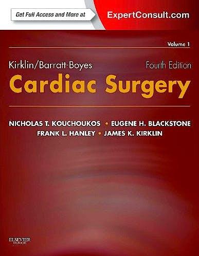 Portada del libro 9781416063919 Kirklin/Barratt-Boyes Cardiac Surgery, 2 Vols. (Online and Print)