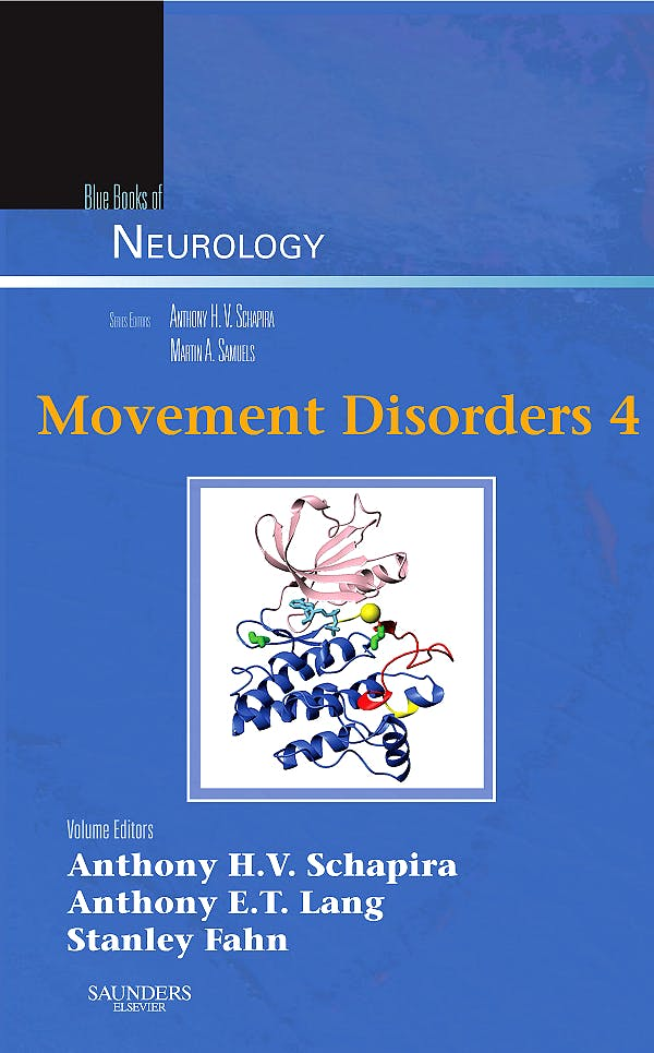 Portada del libro 9781416066415 Movement Disorders 4. Blue Books of Neurology, Vol. 34