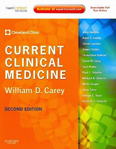 Portada del libro 9781416066439 Current Clinical Medicine
