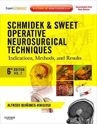 Portada del libro 9781416068396 Schmidek and Sweet Operative Neurosurgical Techniques. Indications, Methods and Results, 2 Vols. (Print + Online)