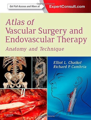 Portada del libro 9781416068419 Atlas of Vascular Surgery and Endovascular Therapy. Anatomy and Technique (Online and Print)