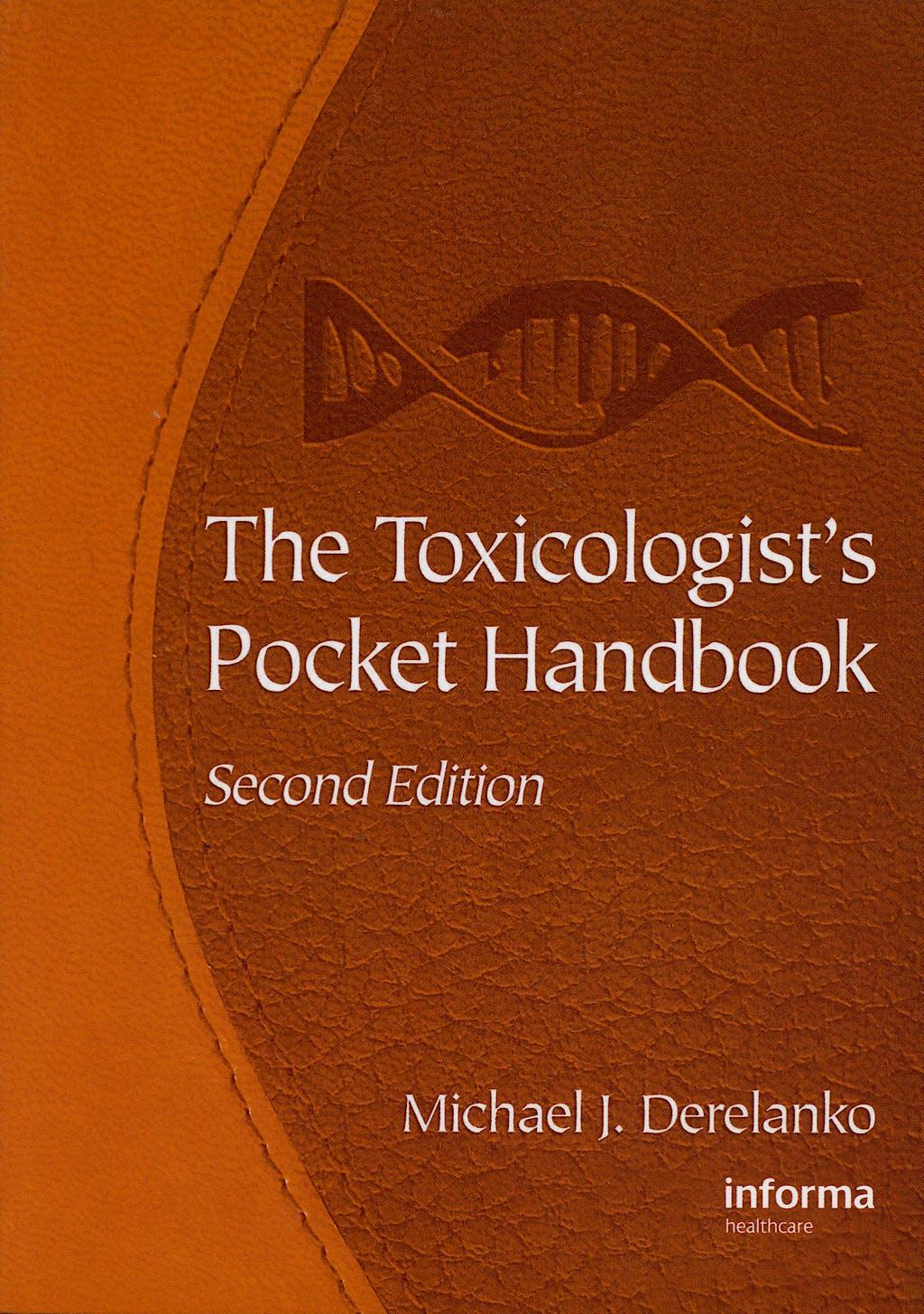 Portada del libro 9781420051384 Toxicologist's Pocket Handbook