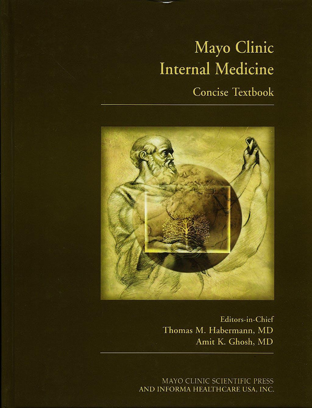 Portada del libro 9781420067491 Mayo Clinic Internal Medicine. Concise Textbook