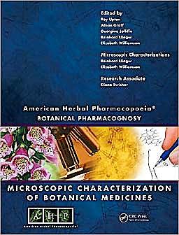 Portada del libro 9781420073263 American Herbal Pharmacopoeia. Botanical Pharmacognosy. Microscopic Characterization of Botanical Medicines