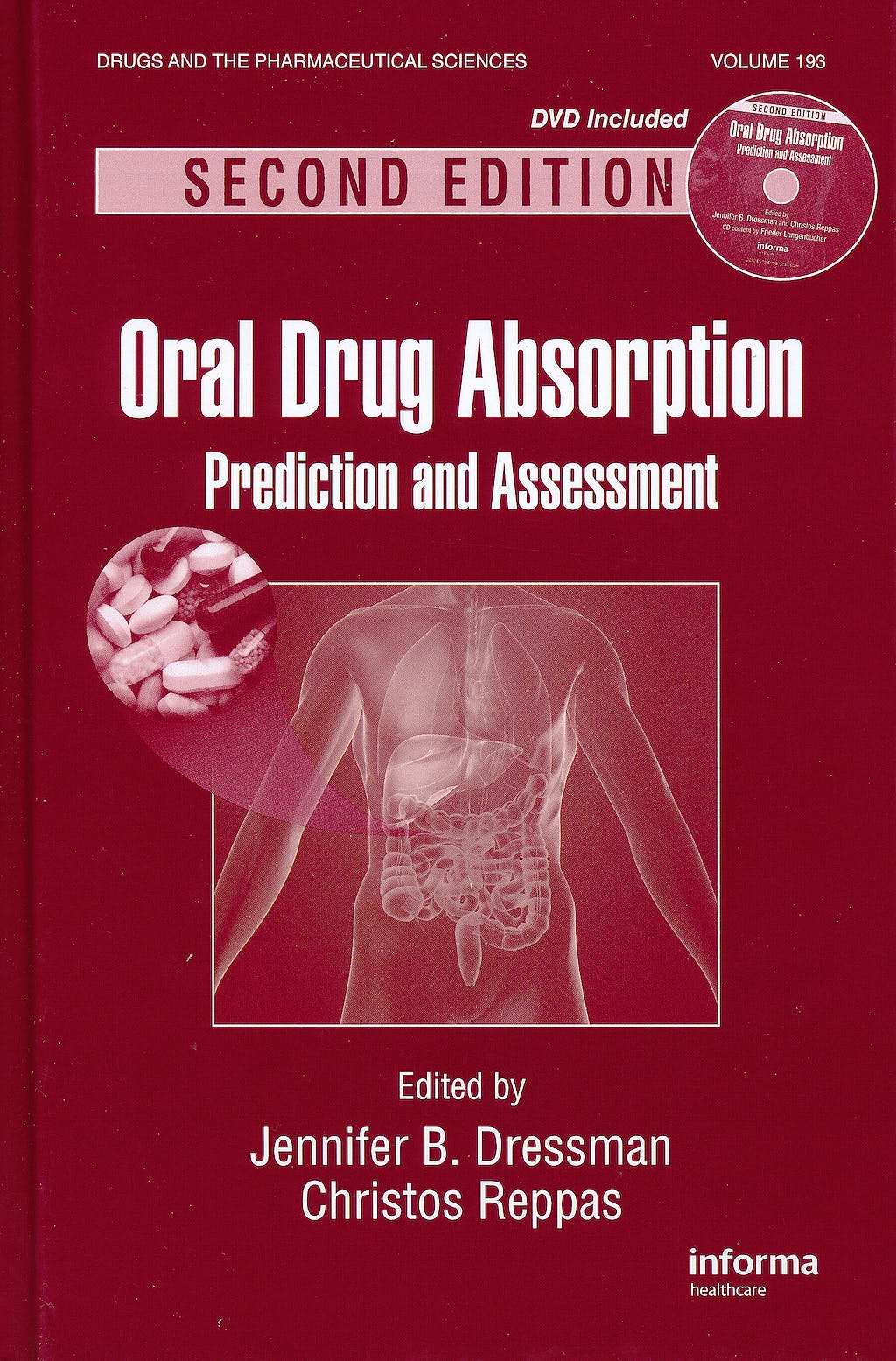 Portada del libro 9781420077339 Oral Drug Absorption. Prediction and Assessment + Dvd