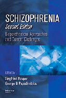 Portada del libro 9781420080049 Schizophrenia