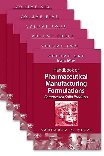 Portada del libro 9781420081060 Handbook of Pharmaceutical Manufacturing Formulations, Six-Volume Set