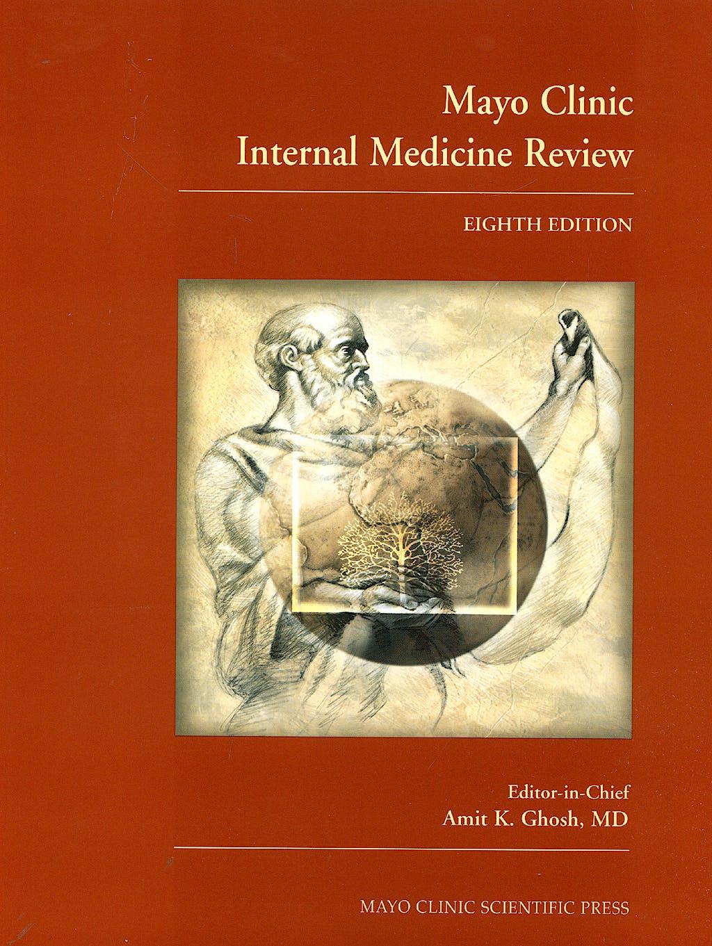 Portada del libro 9781420084788 Mayo Clinic Internal Medicine Review