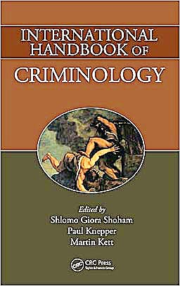 Portada del libro 9781420085518 International Handbook of Criminology