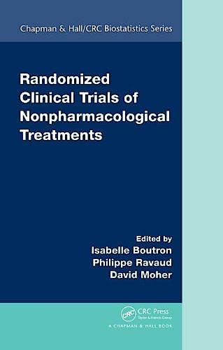Portada del libro 9781420088014 Randomized Clinical Trials of Nonpharmacological Treatments
