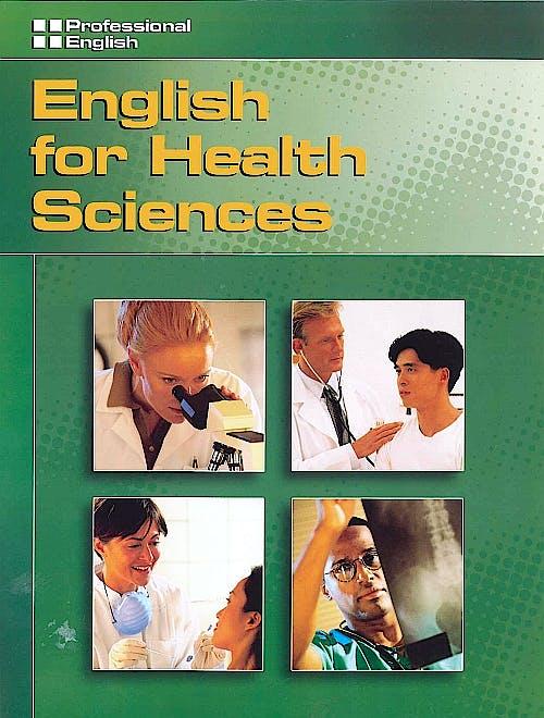 Portada del libro 9781424000128 English:english for Health Sciences