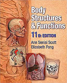 Portada del libro 9781428304192 Body Structures and Functions + Cd-Rom