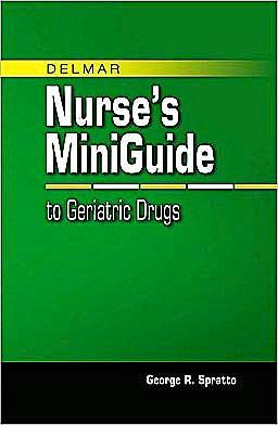 Portada del libro 9781428320031 Delmar's Mini Guide to Geriatric Drugs