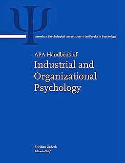 Portada del libro 9781433807275 APA Handbook of Industrial and Organizational Psychology, 3 Vols. (APA Handbooks in Psychology)