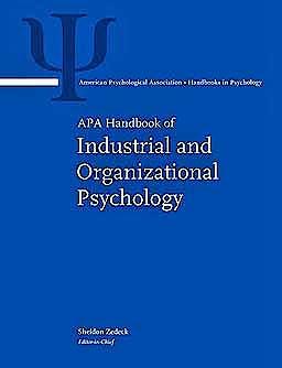 Portada del libro 9781433807275 APA Handbook of Industrial and Organizational Psychology, 3 Vols. (APA Handbooks in Psychology)