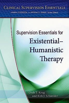 Portada del libro 9781433822810 Supervision Essentials for Existential and Humanistic Therapy