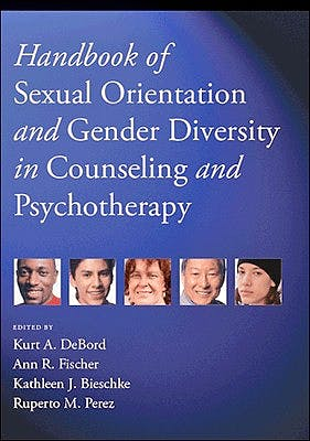 Portada del libro 9781433823060 Handbook of Sexual Orientation and Gender Diversity in Counseling and Psychotherapy