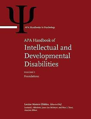 Portada del libro 9781433831942 APA Handbook of Intellectual and Developmental Disabilities (2 Volume Set)