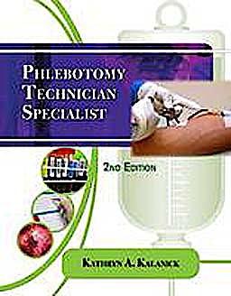 Portada del libro 9781435486447 Phlebotomy Technician Specialist