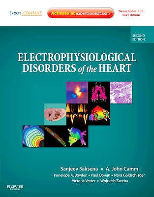 Portada del libro 9781437702859 Electrophysiological Disorders of the Heart (Online and Print)