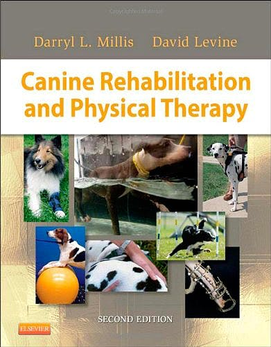 Portada del libro 9781437703092 Canine Rehabilitation and Physical Therapy