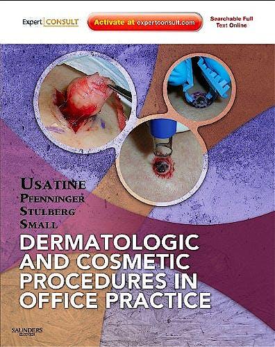Portada del libro 9781437705805 Dermatologic and Cosmetic Procedures in Office Practice (Online and Print)