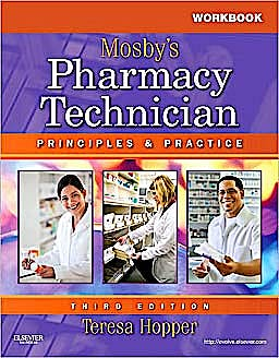 Portada del libro 9781437706710 Workbook and Lab Manual for Mosby's Pharmacy Technician. Principles and Practice
