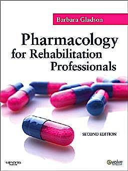 Portada del libro 9781437707571 Pharmacology for Rehabilitation Professionals
