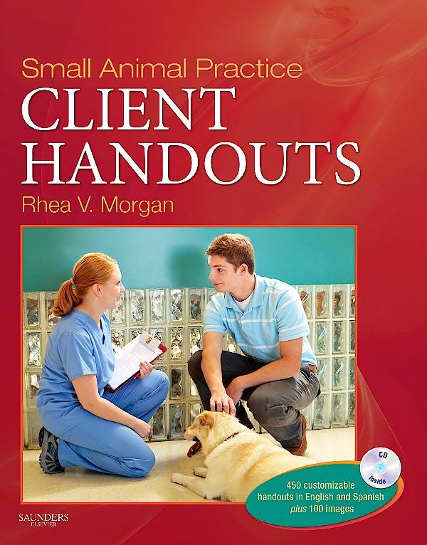 Portada del libro 9781437708509 Small Animal Practice Client Handouts + Cd-Rom