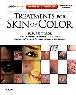 Portada del libro 9781437708592 Treatments for Skin of Color. Expert Consult - Online and Print